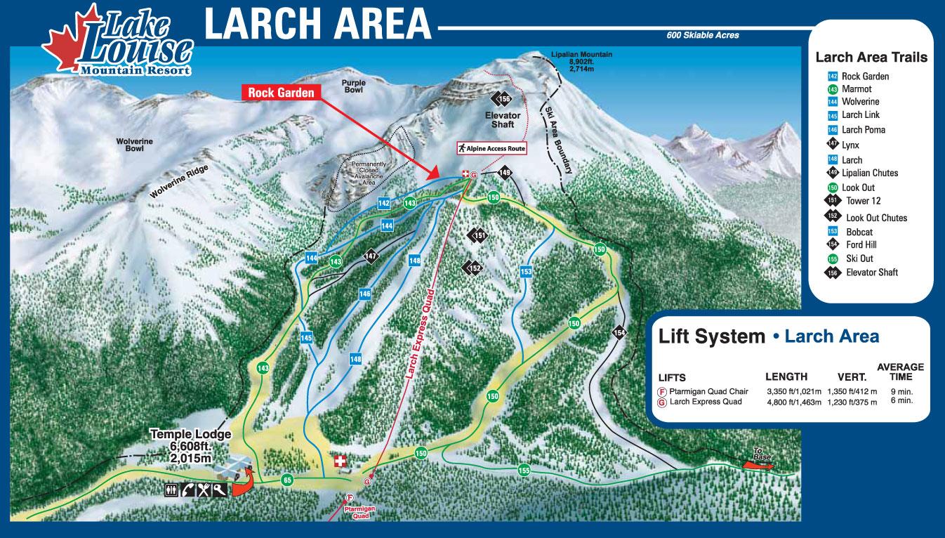 Canada Ski Lake Louise Canadian Rockies Western Canada